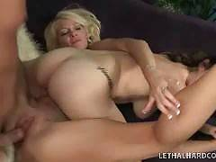 It's every man's ultimate fantasy! To fuck, not only a super hot MILF, but her horny daughter, too...at the same time! We found the sluttiest mom and daughter teams and pumped their mouths, cunts and asses with the biggest cocks around! Mom always said it